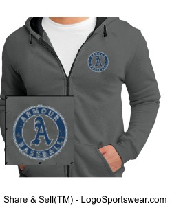 Concert Fleece by District Design Zoom